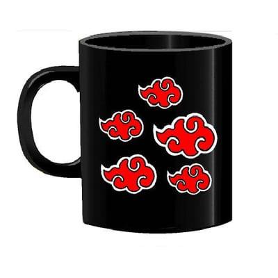 Mug Tallado Logo Akatsuki TooGEEK Naruto Anime