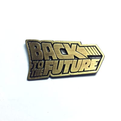 Pin Metálico Logo TooGEEK Back to the Future Ciencia Ficción