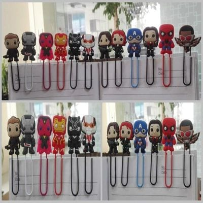 Separadores de Libros Personajes Varios EB Avengers Marvel