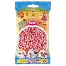 Cuencas Hamma Beads Pictograma Didácticos Tamaño Mediano Paquete 1000 Piezas Color Rosado