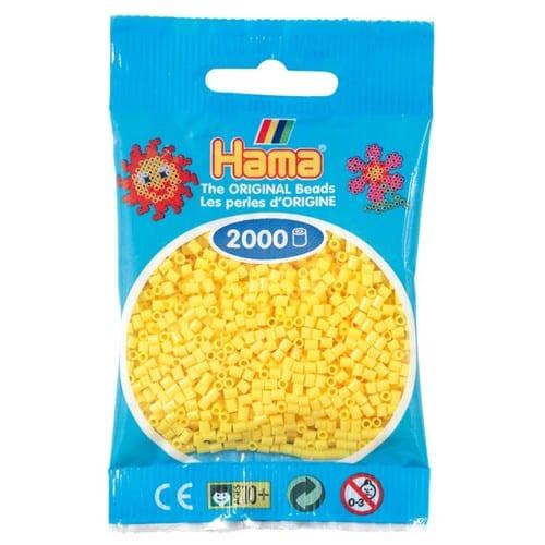 Cuencas Hamma Beads Pictograma Didácticos Tamaño Mini Paquete 2000 Piezas Color Amarillo