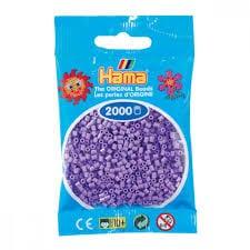 Cuencas Hamma Beads Pictograma Didácticos Tamaño Mini Paquete 2000 Piezas Color morado