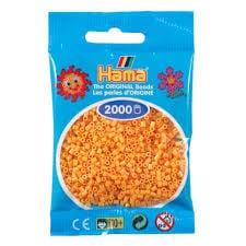 Cuencas Hamma Beads Pictograma Didácticos Tamaño Mini Paquete 2000 Piezas Color Amarillo Teddy