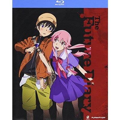 DVD Mirai Nikki Funimation Anime Complete Series