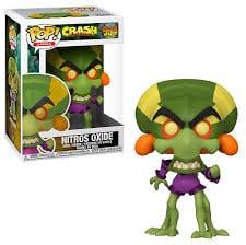 Figura Nitros Oxide Funko POP Crash Bandicoot Videojuegos