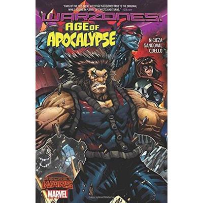 Comic Age of Apocalypse Warzones Marvel Comics Marvel