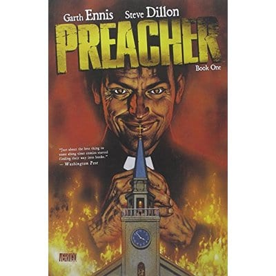 Novela Gráfica Preacher Vertigo Iconos Vol. 1 ENG
