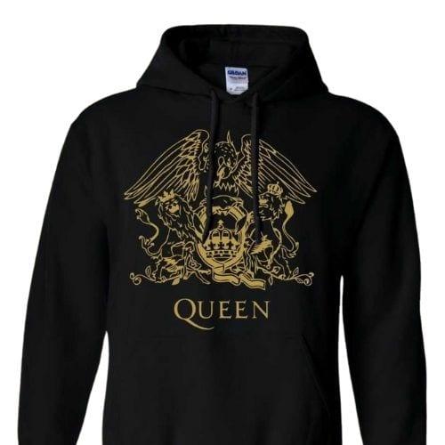 Hoodie Logo Queen Jaimito Queen Música Talla (M)