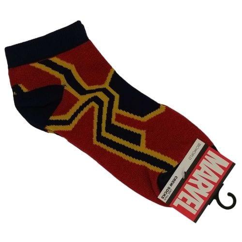 Medias Tobilleras Iron Spiderman PT Marvel