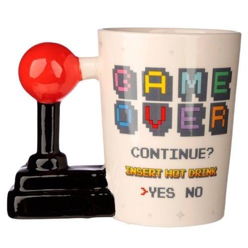 Mug Cerámico Game Over PT Gamer Videojuegos 3D