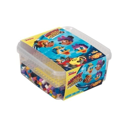 Maxi Set Hama Beads Pictograma Didácticos Disney Mickey Aventuras Sobre Ruedas
