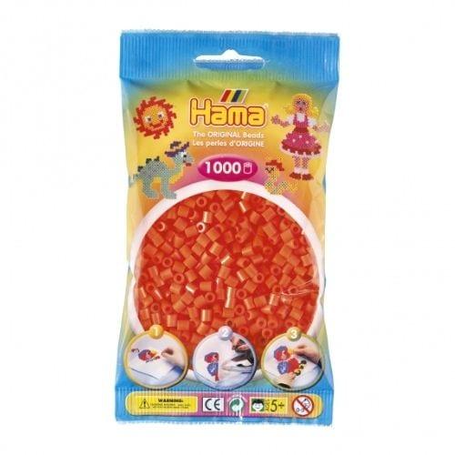 Cuencas Hama Beads Pictograma Didácticos Tamaño Mediano Paquete 1000 Piezas Color Naranja