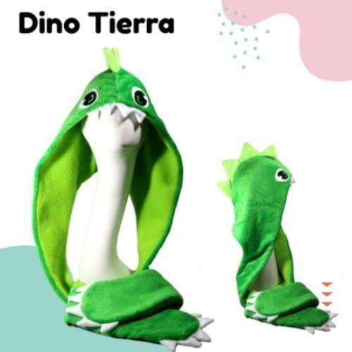 Bufanda Dino Tierra Hatsy Soy Fan Dinosaurios Fantasía