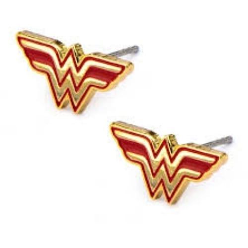 Aretes Wonder Woman Salesone DC Comics Logo