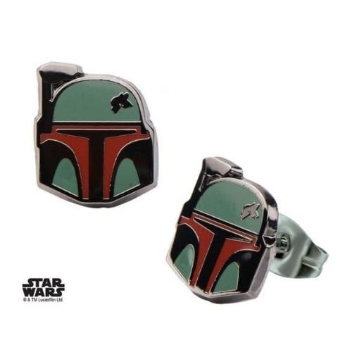 Aretes Boba Fett Salesone Star Wars Deluxe