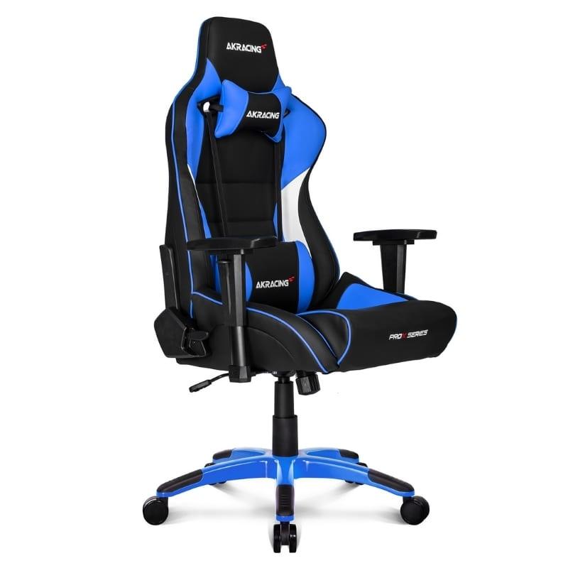 Silla Gamer Akracing Videojuegos Prox Series Azul