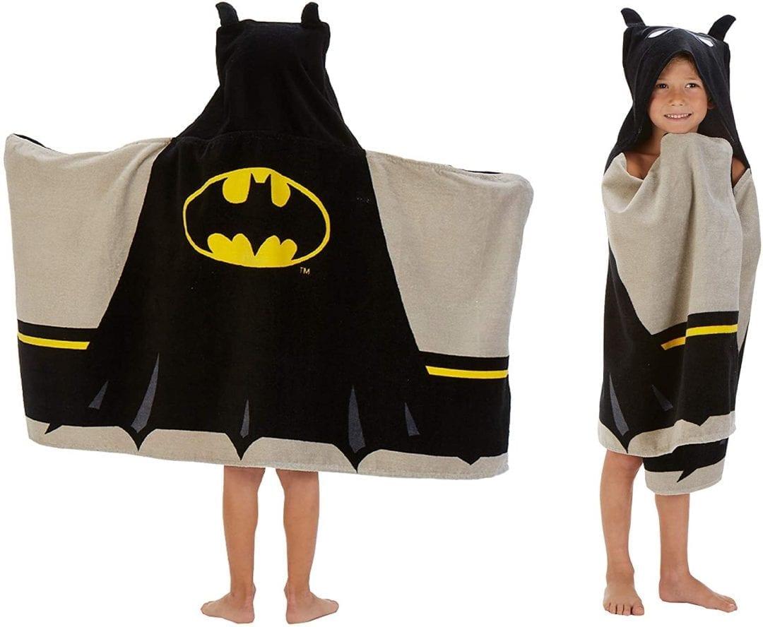 Toalla Batman Para Niños Licenciada 24''x50'' DC Comics (Entrega de 4 a 5 semanas una vez realizado el pago)