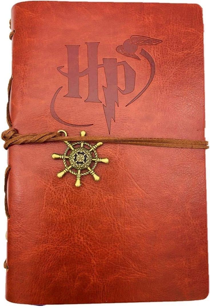 Diario Vintage Hecho a mano de piel sintética para Hogwarts Harry Potter 5 x 7.2 pulgadas (Entrega de 4 a 5 semanas una vez realizado el pago)