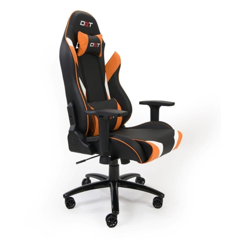 Silla Gamer DXT Videojuegos Zeus Orange