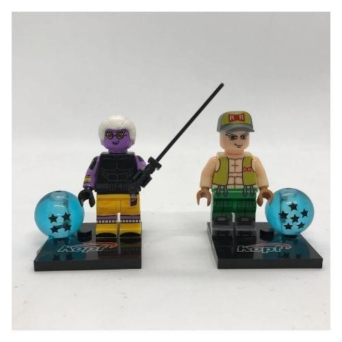 Figura Tipo Lego Personajes Varios PT Dragon Ball Anime (Unidad) (Copia)