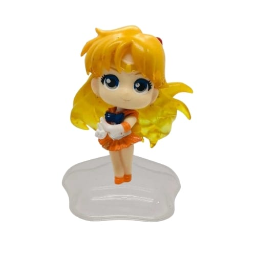 "Figura Sailor Venus PT Sailor Moon Anime Base Estrella  3"""
