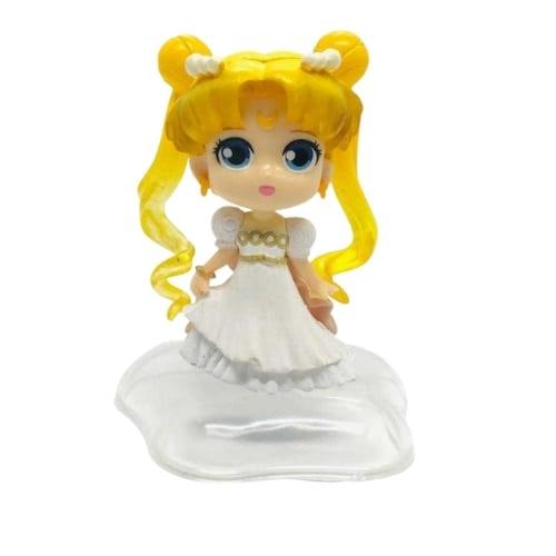 "Figura Princesa Serenity PT Sailor Moon Anime Base Estrella  3"""