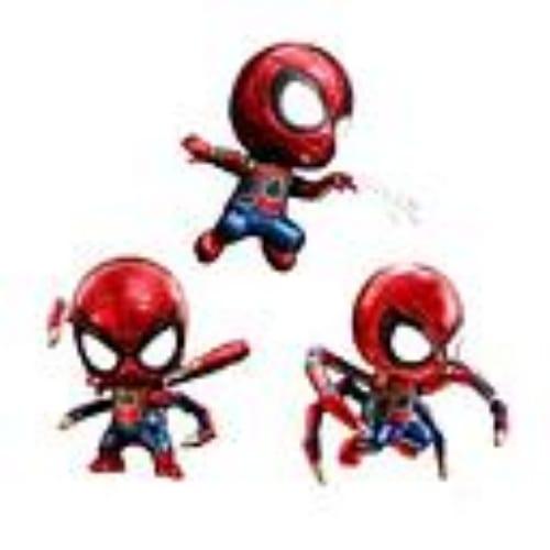 Figura Spider Man iron Marvel Base amarilla