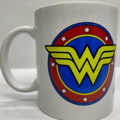Mug en Cerámica Wonder Woman PT Wonder Woman DC Comics Blanco con Logo