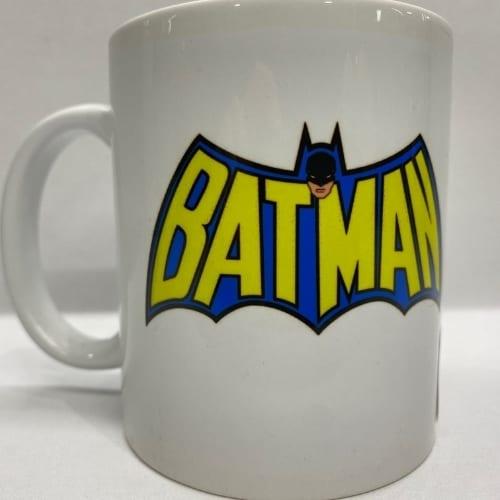 Mug en Cerámica Batman PT Batman DC Comics Blanco con Logo Batman