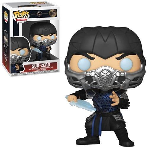 Figura Sub-Zero Funko POP Mortal Kombat 2021 Videojuegos (Pre-Venta Llegada Aproximada Octubre)