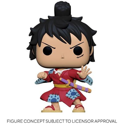 Figura Luffy Funko POP One Piece Anime Kimono (Pre-Venta Llegada Aproximada Junio)