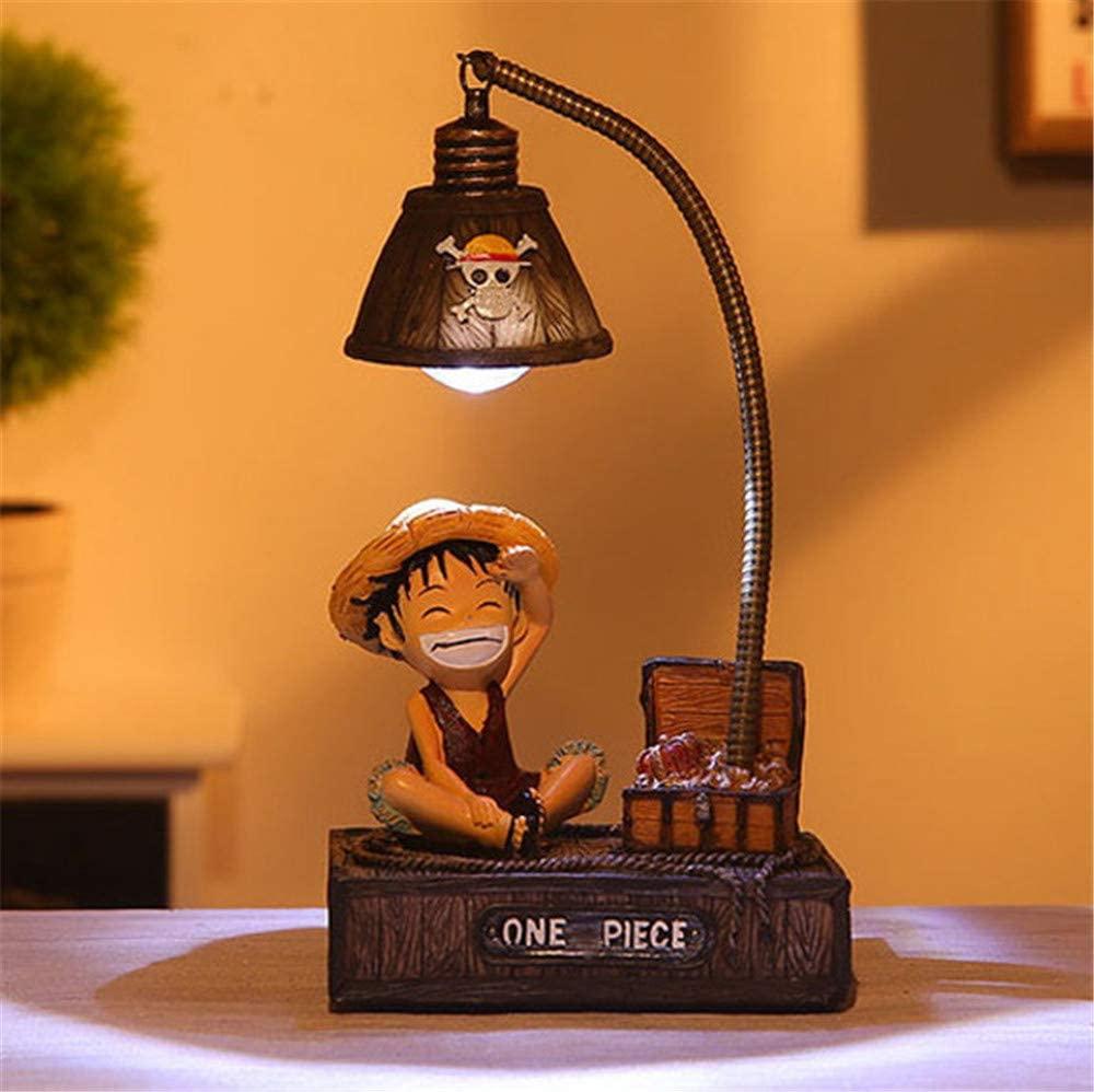 Lámpara Luffy (Entrega de 4 a 5 semanas una vez realizado el pago)