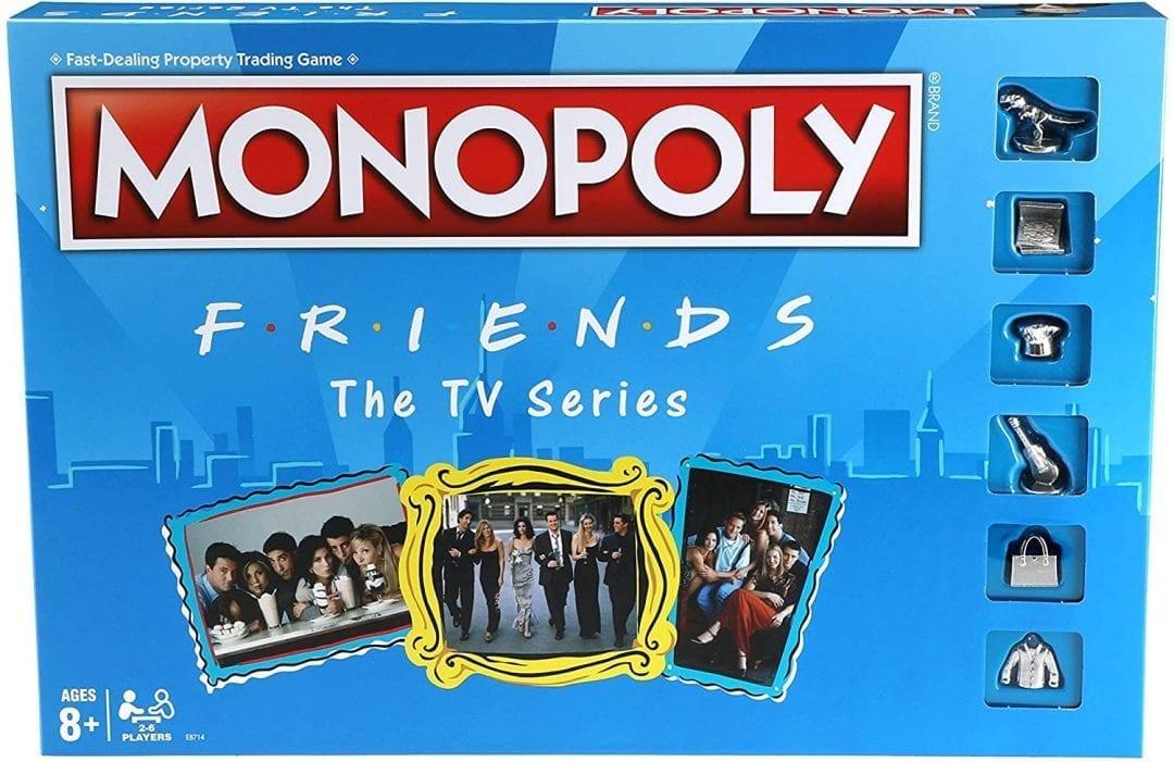 Monopoly Friends The TV Series Exclusicvo en Ingles  (Entrega de 4 a 5 semanas una vez realizado el pago)
