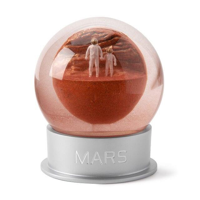 Globo de polvo de Marte (Entrega de 4 a 5 semanas una vez realizado el pago)