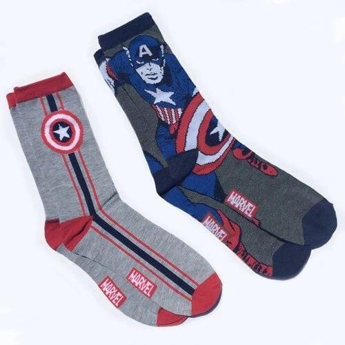 Medias Capitán América Hyp Marvel Set X 2
