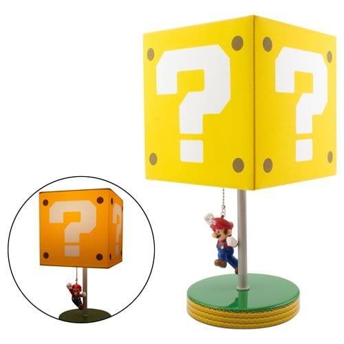 Lámpara Question Block Super Mario Videojuegos  (Pre-Venta Llegada Aproximada Octubre)