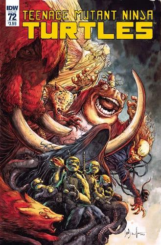 Tortugas Ninja - Revistilla IDW Publishing Teenage Mutant Ninja Turtles Vol 5 Varios Números ENG