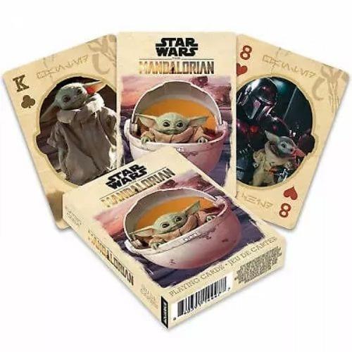 Cartas de Poker Baby Yoda Aquarius Mandalorian Star Wars
