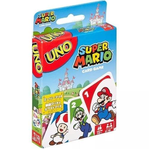 UNO Mario Bros Mattel Games Videojuegos