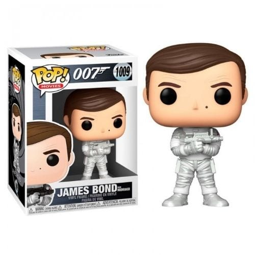 Figura James Bond Funko POP Iconos Roger Moore