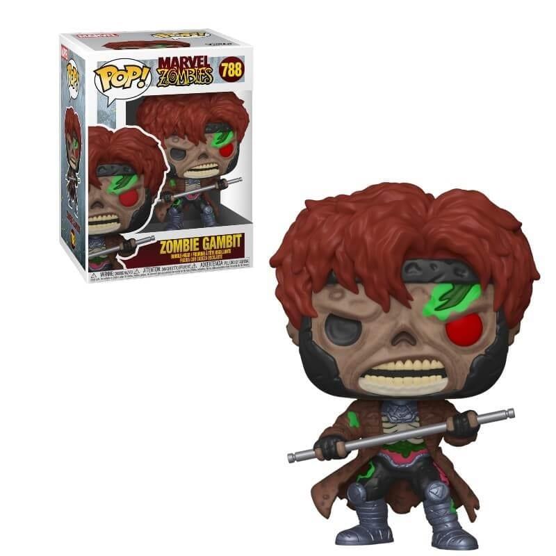 Figura Zombie Gambit Funko POP Zombies Marvel (Pre-Venta Llegada Aproximada Mayo)