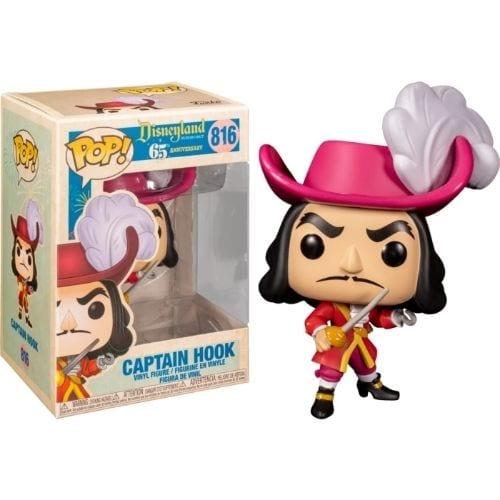Figura Captain Hook Funko POP Disney Disneyland 65th Anniversary
