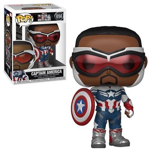 Figura Captain America Funko POP The Falcon and Winter Soldier Marvel