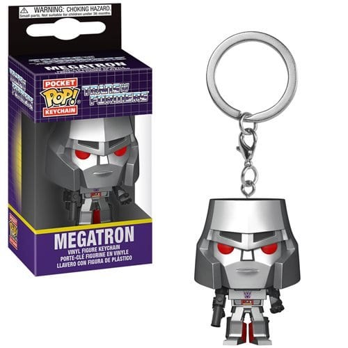 Llavero Megatron Funko POP Transformers Peliculas keychain Negro