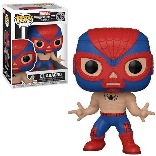 Figura Luchador Spider Man Funko POP Marvel El Aracno