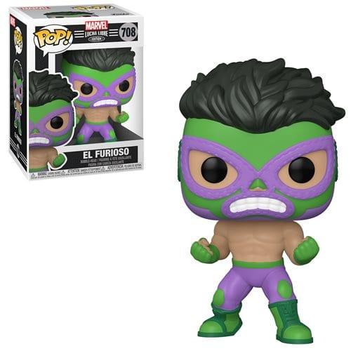 Figura Luchador Hulk Funko POP Marvel El Furioso