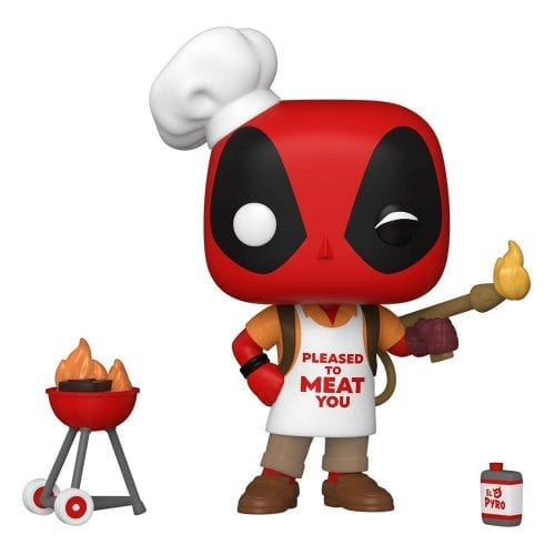 Figura Deadpool Backyard Griller Funko POP Marvel (Pre-Venta Llegada Aproximada Mayo)