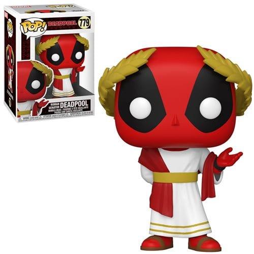 Figura Deadpool Funko POP Marvel Senador Romano 30th Anniversary (Pre-Venta Llegada Aproximada Mayo)