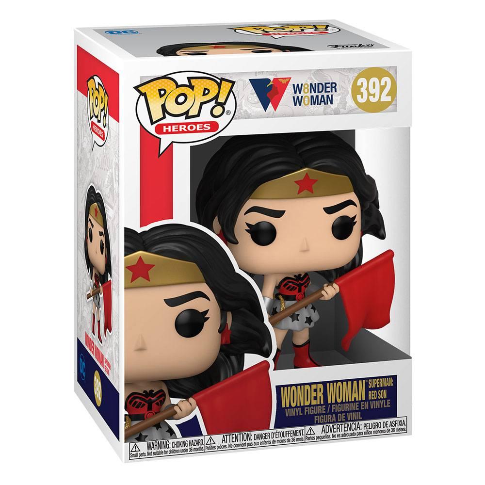 Figura Wonder Woman Red Son Funko POP Dc Comics (Pre-Venta Llegada Aproximada Agosto)