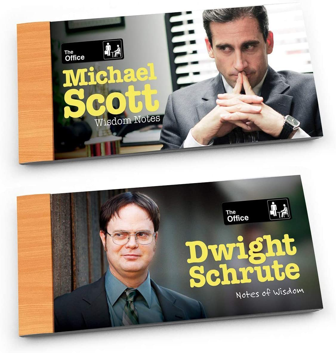 Sabiduría Notas de la Oficina - Dwight y Michael 2-PACK (Entrega de 3 a 4 semanas una vez realizado el pago)